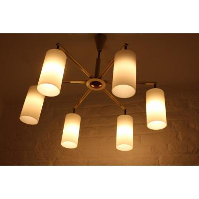 Modernist Chandelier With 6 Lights