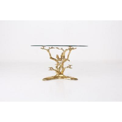 Willy Daro Table Basse Aux Oiseaux