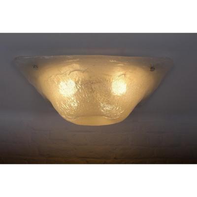 Müller & Zimmer Blown Glass Ceiling Lamp