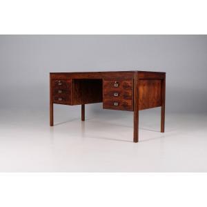 Scandinavian Desk In Rio Rosewood