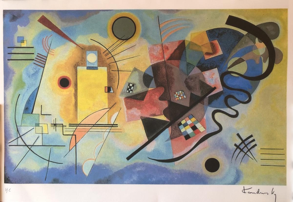 Kandinsky Vassily Amarillo Rojo-azul 1925-photo-3