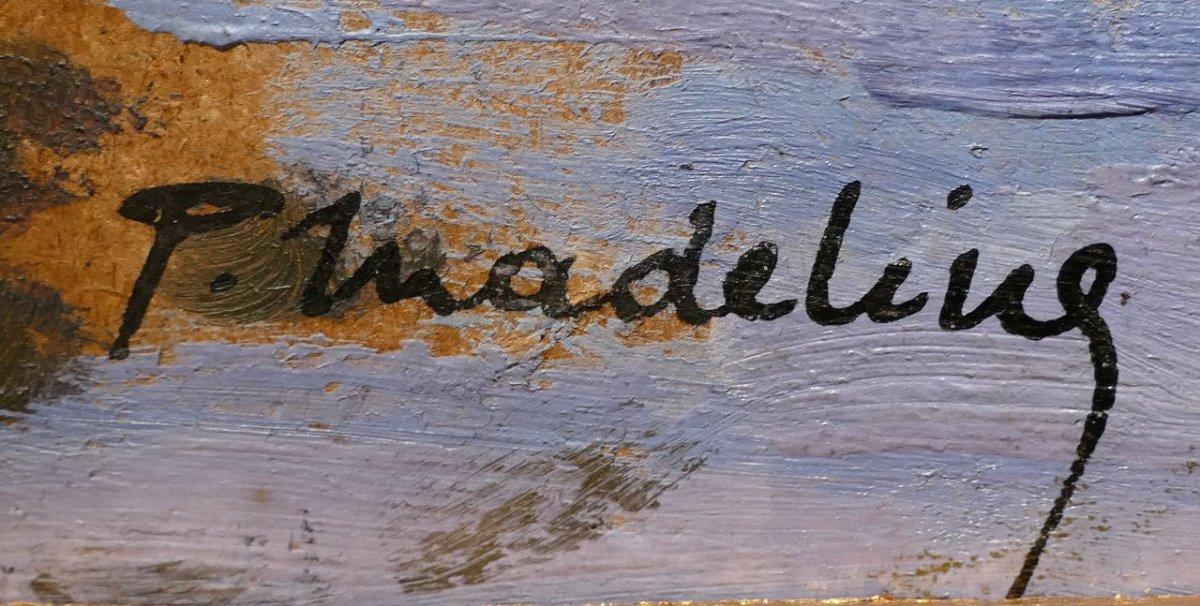 Madeline Paul Tableau Français Début 20è Siècle Ecole Crozant Pont Sur La Creuse Huile Signée-photo-3