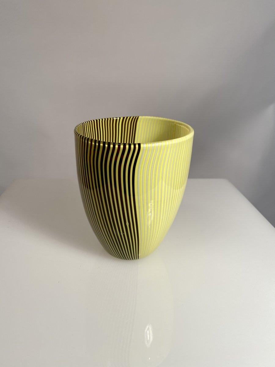 Vase «Tessuto» Carlo Scarpa Venini Murano