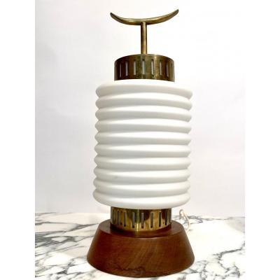 Très rare lampe «formes nouvelles» maison Rispal 1960