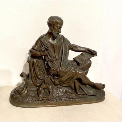 Bronze Ancien «mécène»
