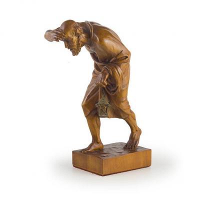 Sculpture De Diogene , XVIIIe Siecle , Art Venetien