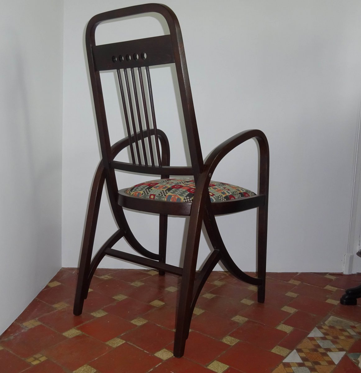 Josef Hoffmann Armchair Thonet 511 Art Nouveau
