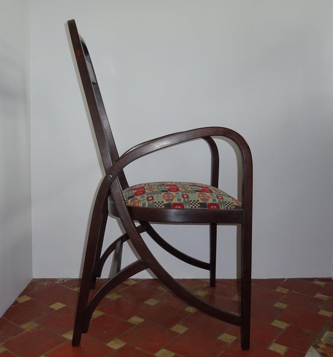 Fauteuil Josef Hoffmann Thonet 511 Art Nouveau