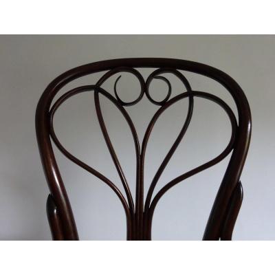 Chaise N°25 Manufacture Josef Hofmann Art Nouveau Thonet