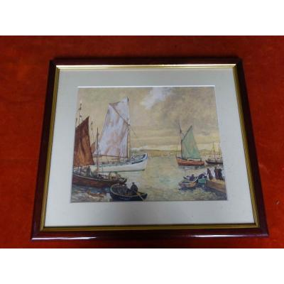 3 Peintures De La Ville De Libourne