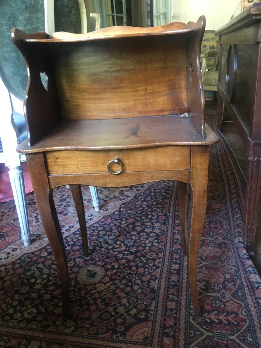 Table De Chevet Provençale XIXème