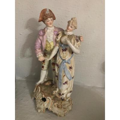 Porcelaine Vieux Paris- XIX ème Siècle