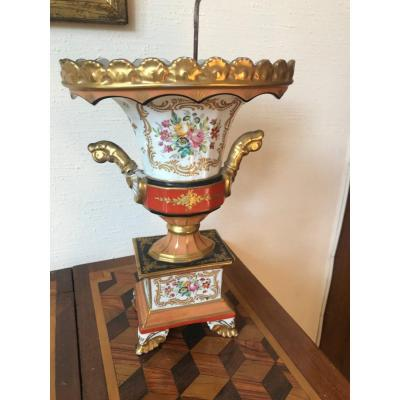 Vase Porcelaine Vieux Paris XVIII ème Siècle