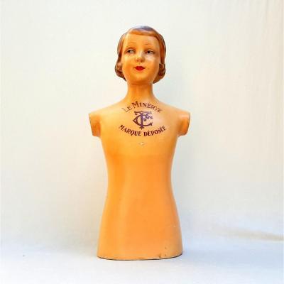 Mannequin Art Déco, Le Minerve, marque déposée