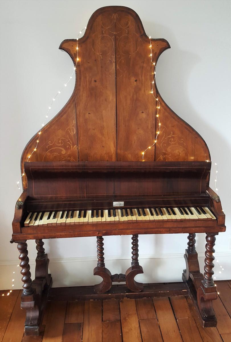 Rare Piano Pyramidal T. Seyrig Vers 1837