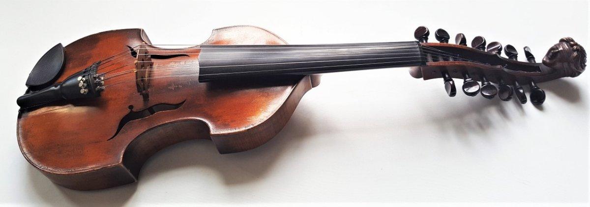Viole d'Amour De 1908 Par Curtil Luthier à Paris