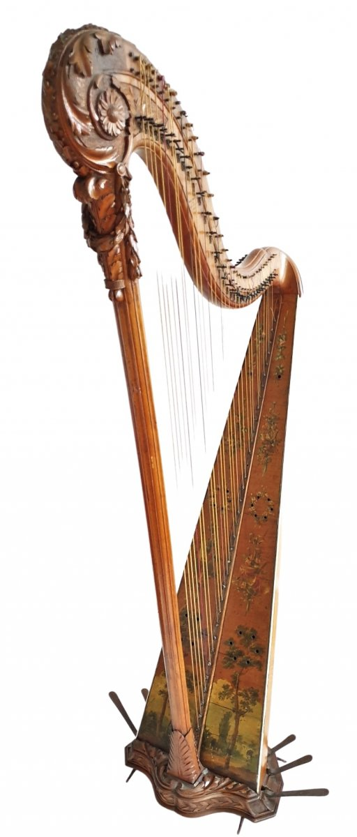 Harpe De Renault Et Chatelain De 1784
