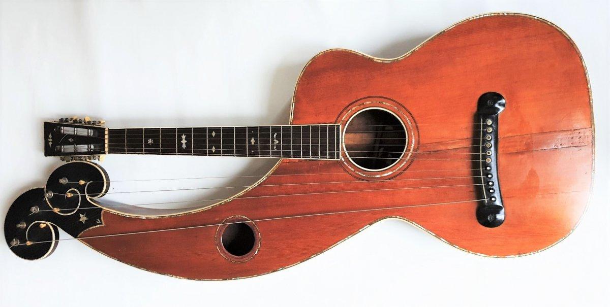 Guitare Harpe deLarson Brothers
