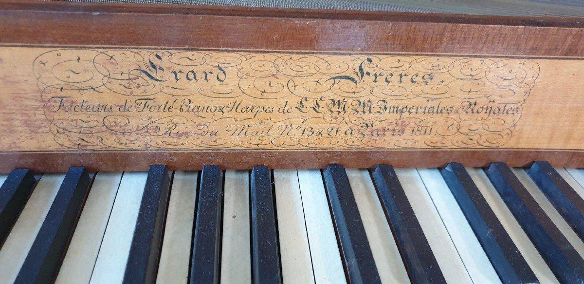 Un Salon De Musique clé en main Piano Erard Flûte Ophicleide Harpe Instruments De Musique Anciens-photo-4