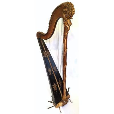 Harpe De Pierre Krupp Paris, Rue Saint-honoré, 1777-1791