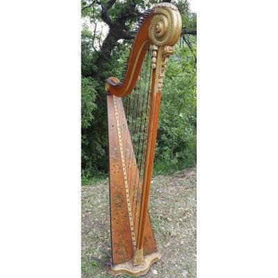 Harpe De Georges Cousineau Vers 1780
