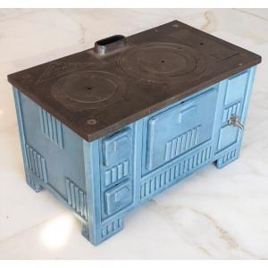 Enamelled Cast Iron Stove For Children From The Former Paul Wintenberger Foundry