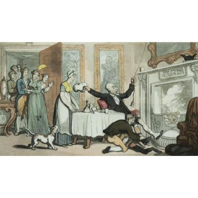 Thomas Rowlandson – Dr. Syntax Mistakes a Gentleman's House for an Inn – 1813
