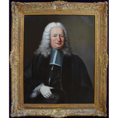 Charles Baziray – Portrait d'un Magistrat – 1747