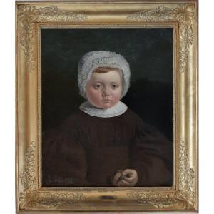 Adolphe Gagey – Portrait d'enfant – 1836
