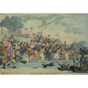 Thomas Rowlandson – Rural Sports – 1811