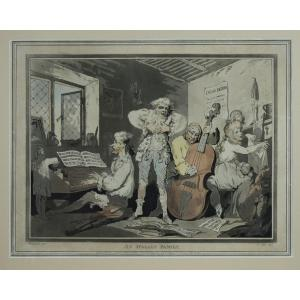 Thomas Rowlandson – An Italian Family – 1785
