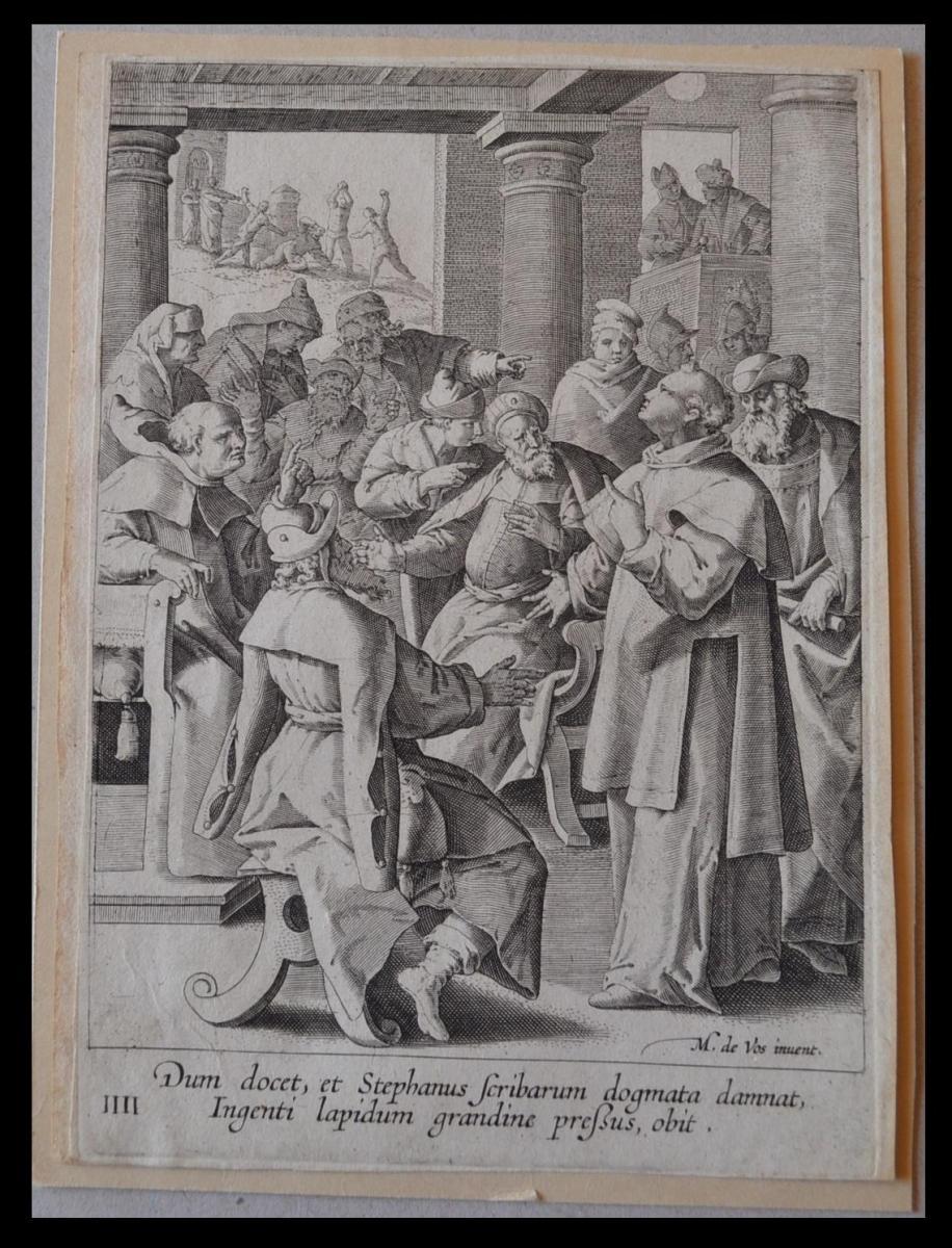 Johannes SADELER (1550-1600) - Gravure - Circa 1590