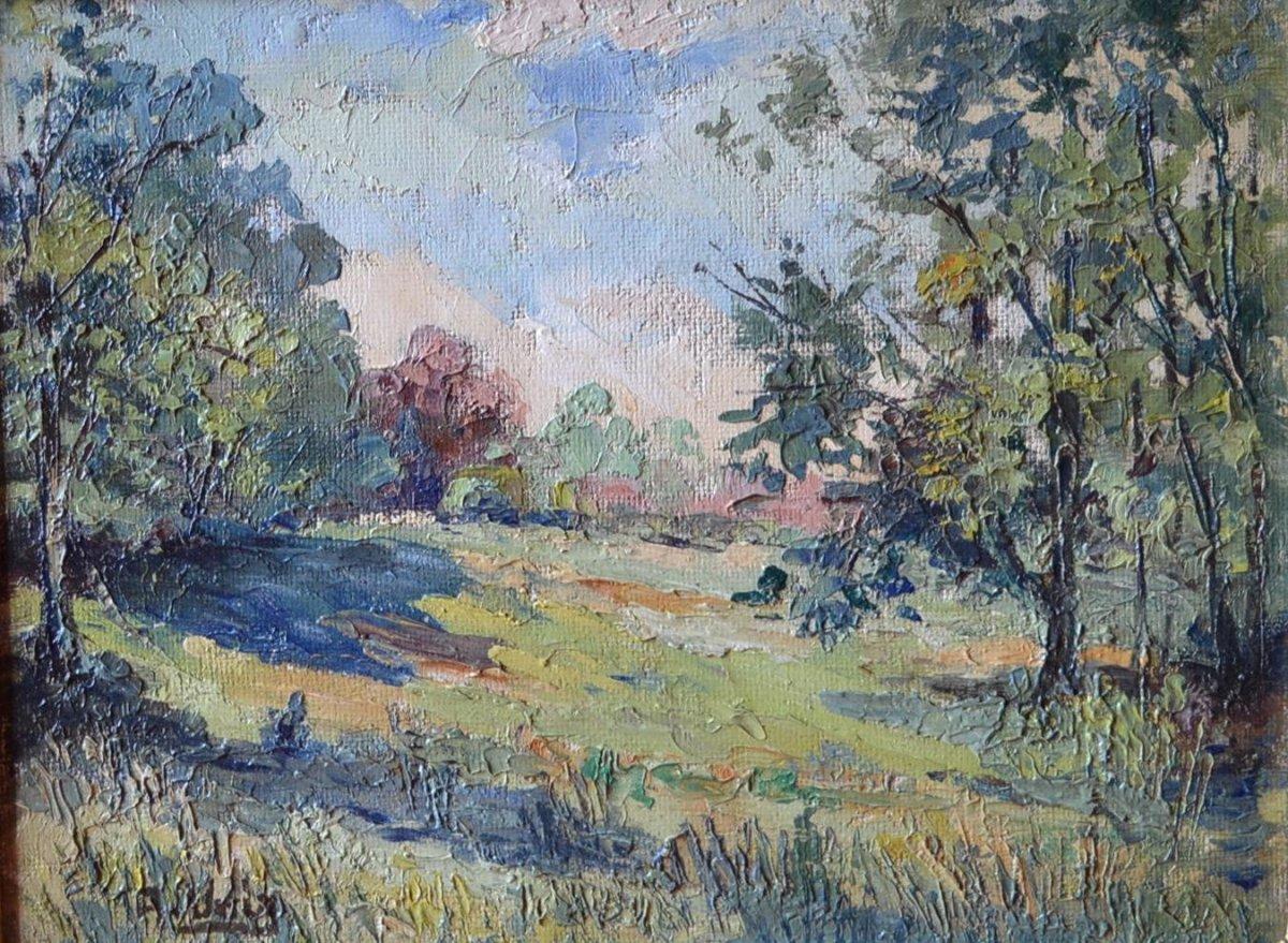 """Adelin Verly, 1883 - 1967, """" Country """" Circa 1935"""