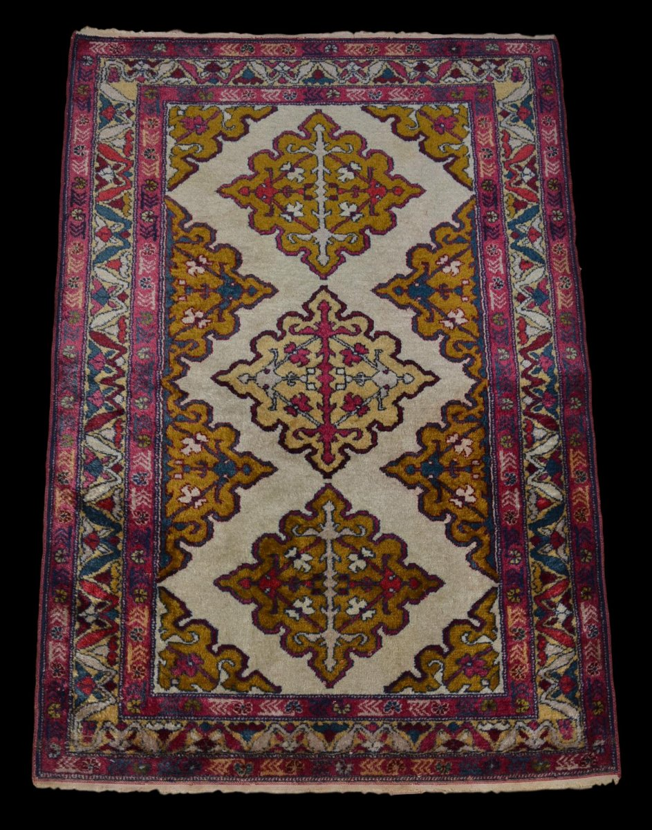Tapis Derbent, Caucase, Laine, 94 cm x 138 cm, Vers 1950