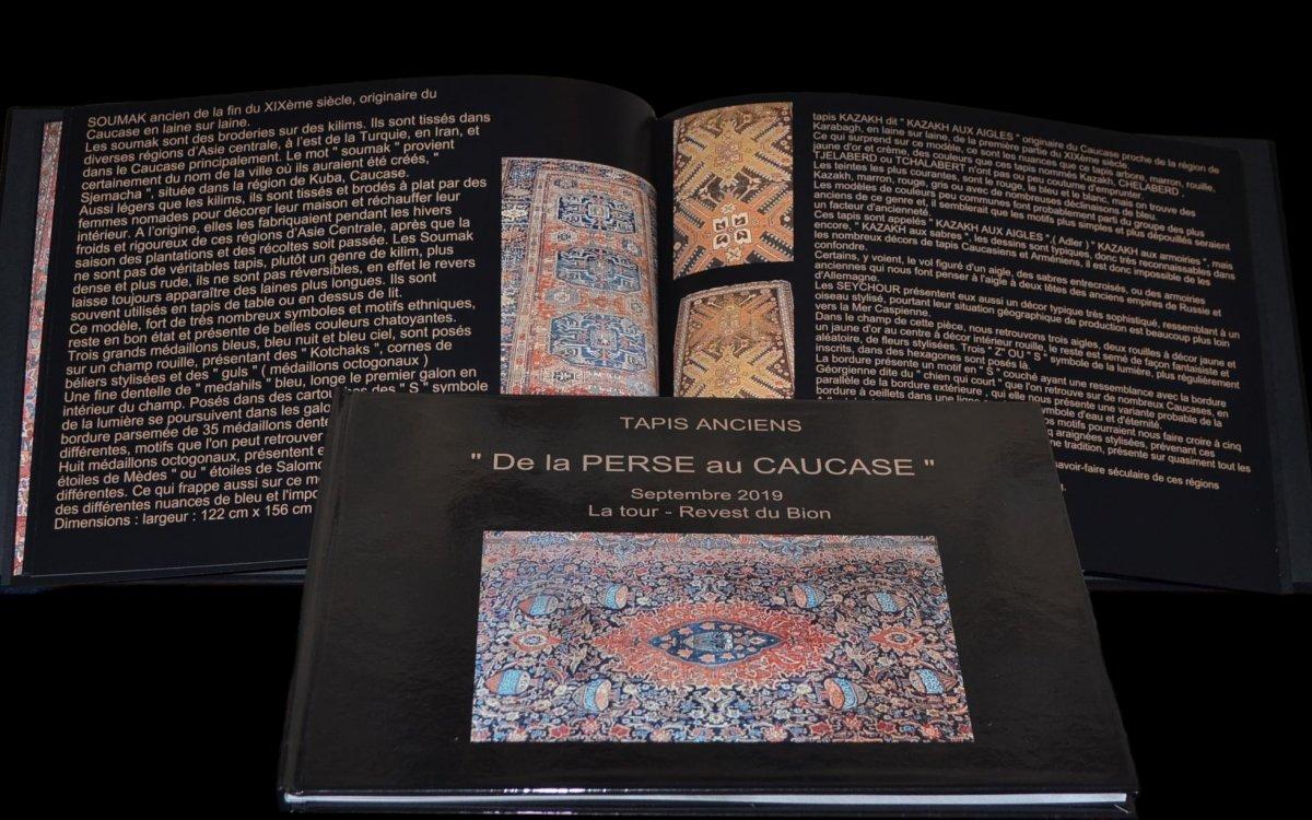 Paire de tapis Sarough, Iran, 135 x 197 cm, Laine Kork Nouée Main, Début Du XXème Siècle-photo-4