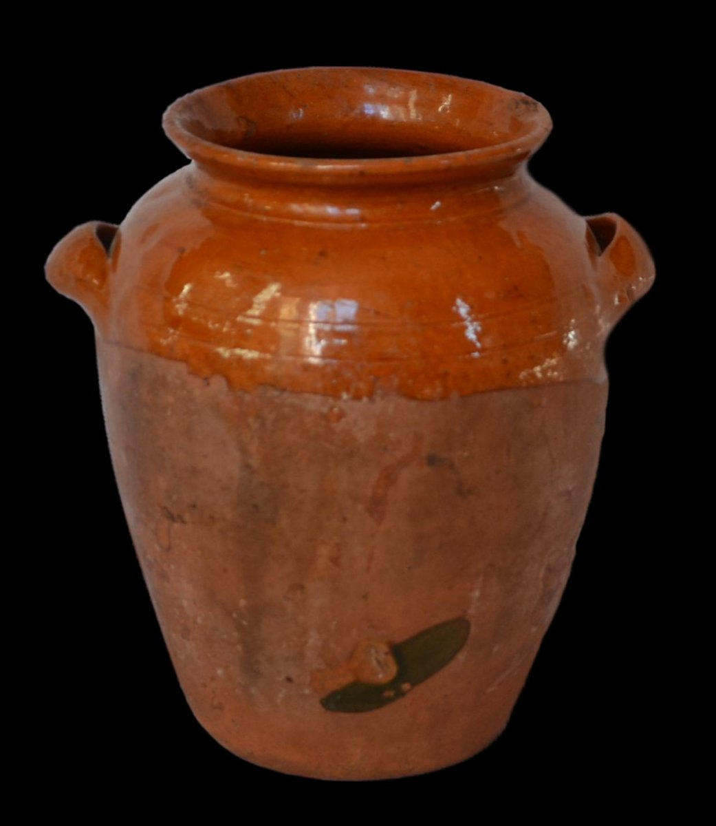 Large Olive Pot, Provence, France, XIXth Century