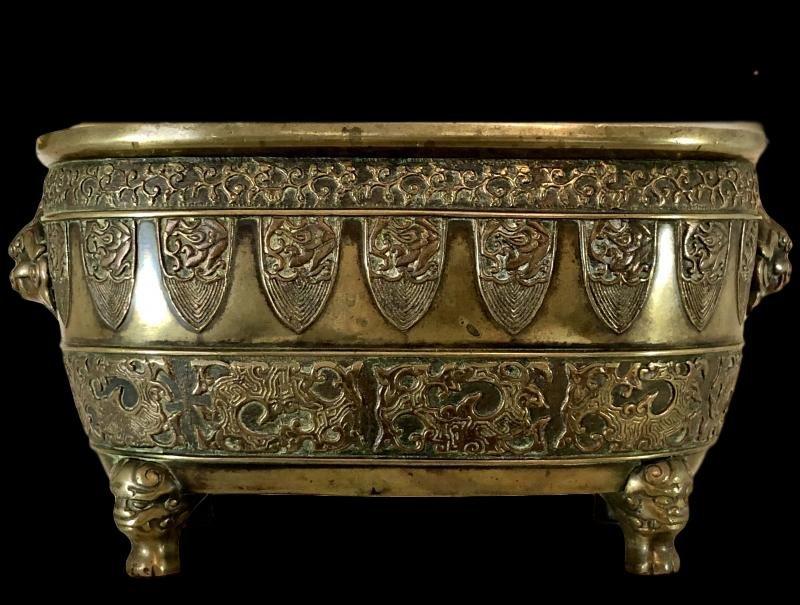 Important brûle-parfum en bronze, Japon, XIXème Siècle, ére Meiji, superbe-photo-2