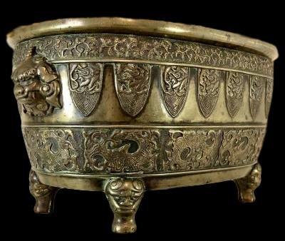 Important brûle-parfum en bronze, Japon, XIXème Siècle, ére Meiji, superbe