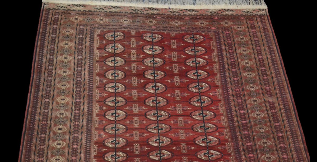 Bukhara-tekke Rug, Central Asia, 133 Cm X 180 Cm, Hand-knotted Wool, Before 1950,-photo-2