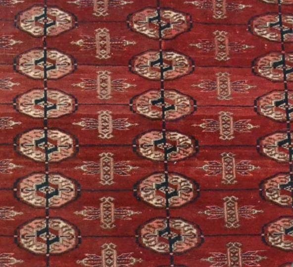 Bukhara-tekke Rug, Central Asia, 133 Cm X 180 Cm, Hand-knotted Wool, Before 1950,-photo-1