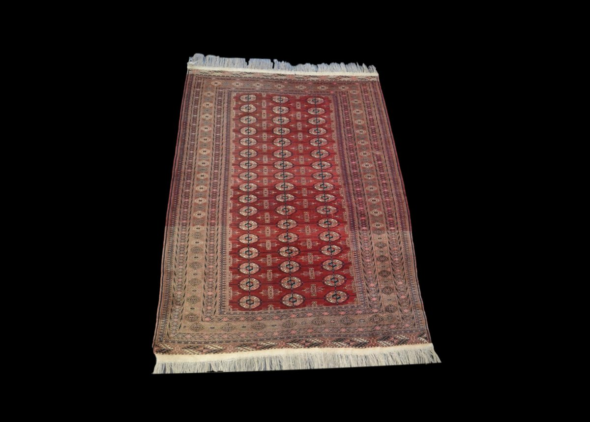 Bukhara-tekke Rug, Central Asia, 133 Cm X 180 Cm, Hand-knotted Wool, Before 1950,-photo-5