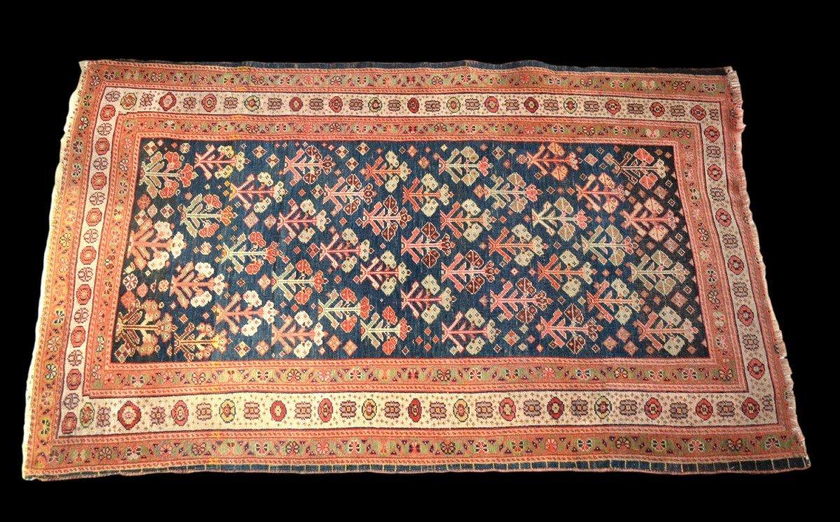 Tapis Kouba ancien, Caucase, 83 cm x 133 cm, laine sur laine, début du XXème siècle-photo-2