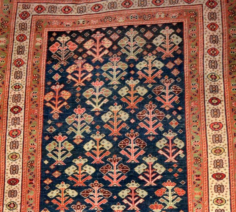 Tapis Kouba ancien, Caucase, 83 cm x 133 cm, laine sur laine, début du XXème siècle-photo-4