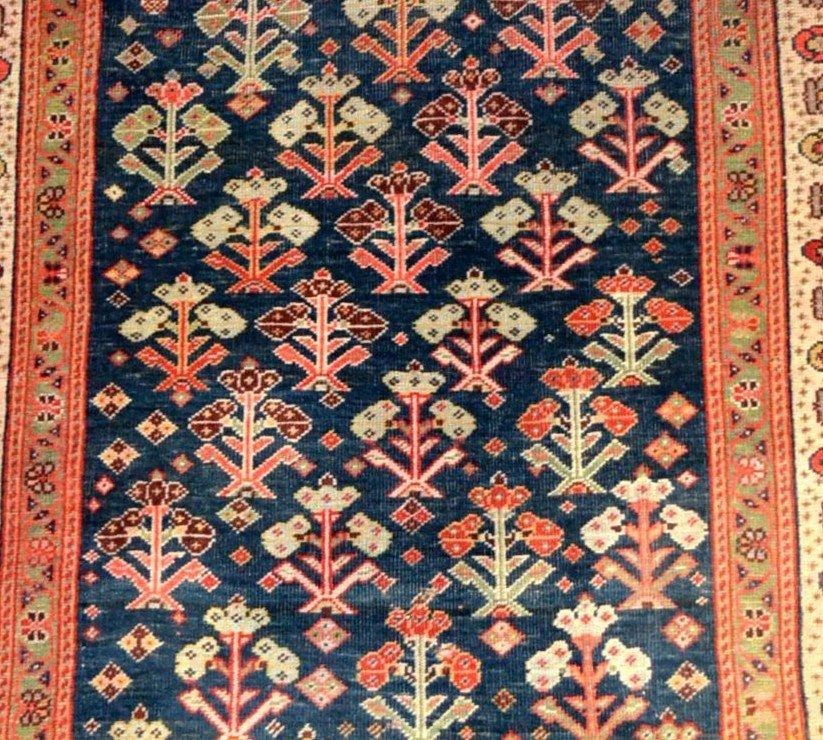 Tapis Kouba ancien, Caucase, 83 cm x 133 cm, laine sur laine, début du XXème siècle-photo-3