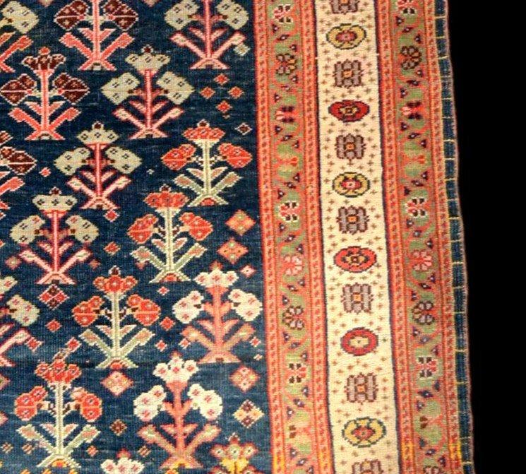 Tapis Kouba ancien, Caucase, 83 cm x 133 cm, laine sur laine, début du XXème siècle-photo-5