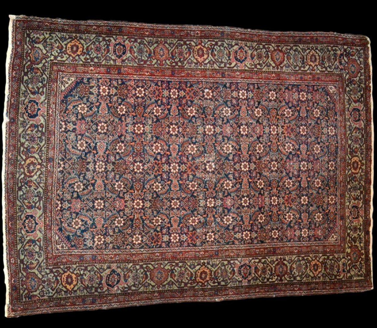 Tapis Persan Feraghan ancien, 131 cm x 185 cm, Iran, XIXème siècle, bel état collection-photo-2