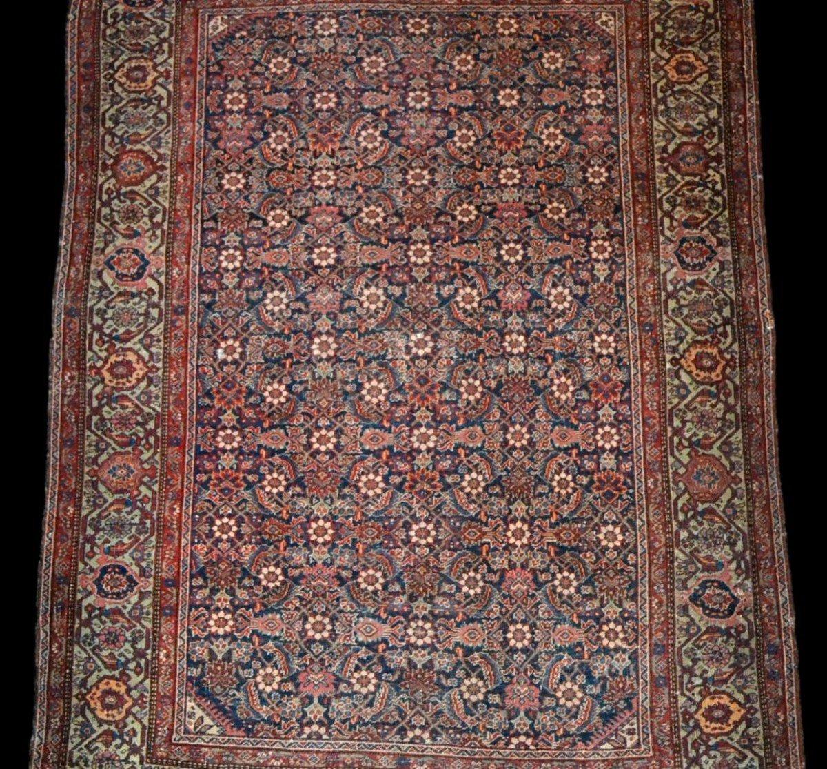 Tapis Persan Feraghan ancien, 131 cm x 185 cm, Iran, XIXème siècle, bel état collection-photo-3