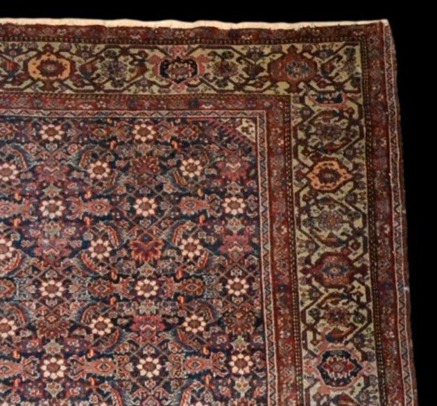 Tapis Persan Feraghan ancien, 131 cm x 185 cm, Iran, XIXème siècle, bel état collection-photo-1