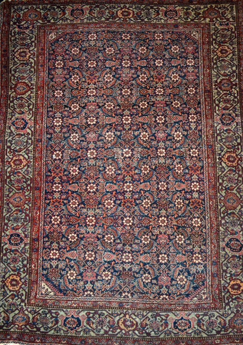Tapis Persan Feraghan ancien, 131 cm x 185 cm, Iran, XIXème siècle, bel état collection-photo-4