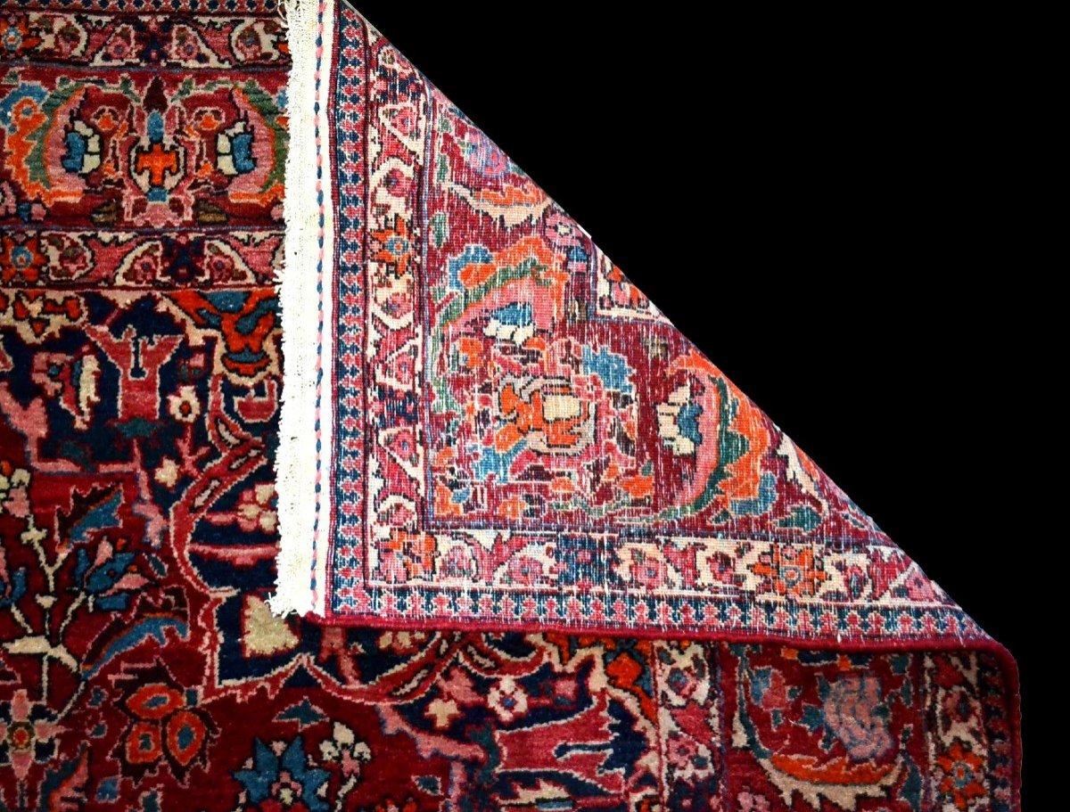 Tapis Persan Bakhtiar, Iran,  214 cm x 313 cm, noué main vers 1970 en très bon état-photo-7